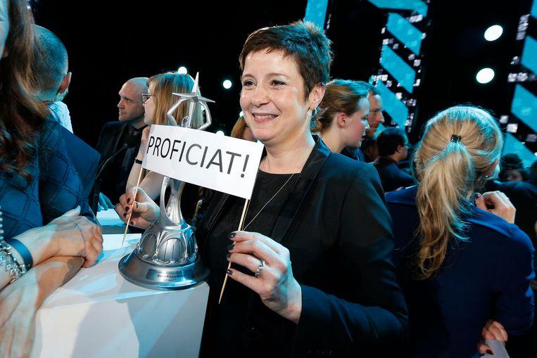 Kathleen Cools gaat samen met Annelies Beck 'Terzake Laat' presenteren. Beeld PHOTO_NEWS