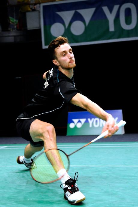Badmintonner Jacco Arends (28) hangt racket aan de wilgen
