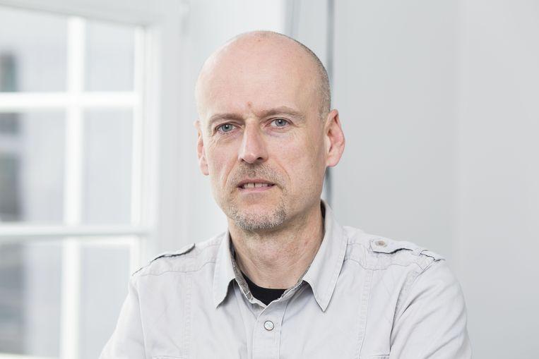 Professor Johan Albrecht (UGent). Beeld ID/Steven Richardson