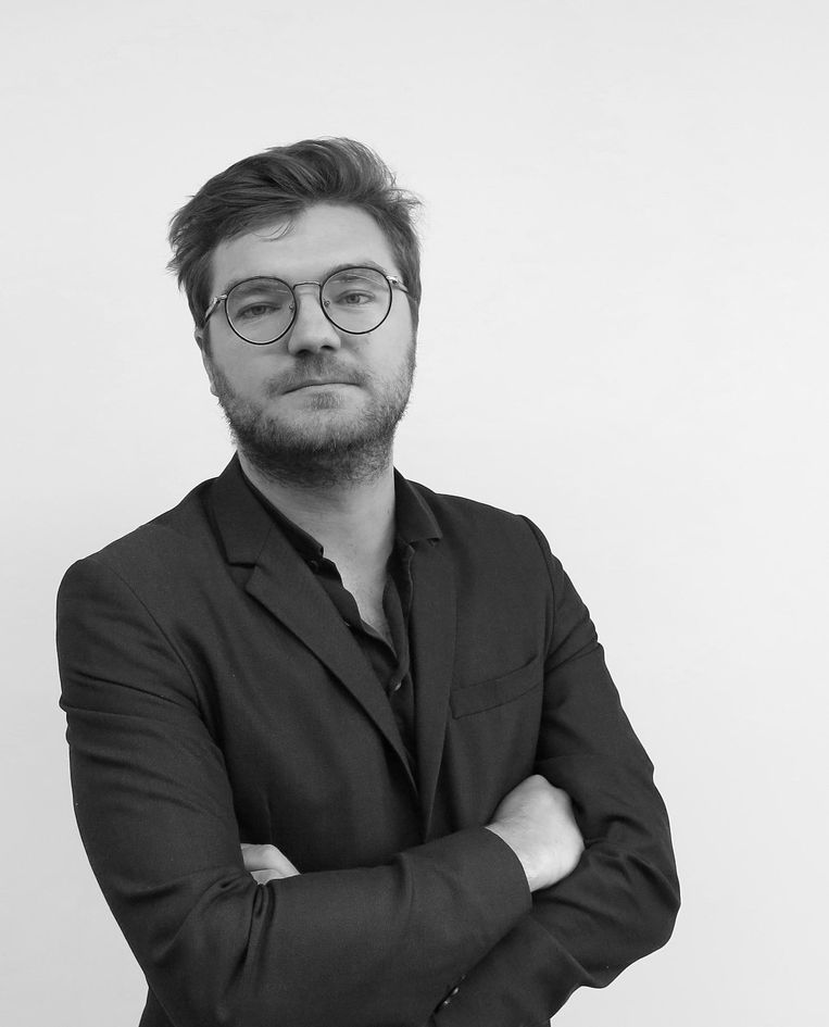 Robin van den Akker, docent filosofie aan de Rotterdamse Erasmus Universiteit. Beeld TR Beeld
