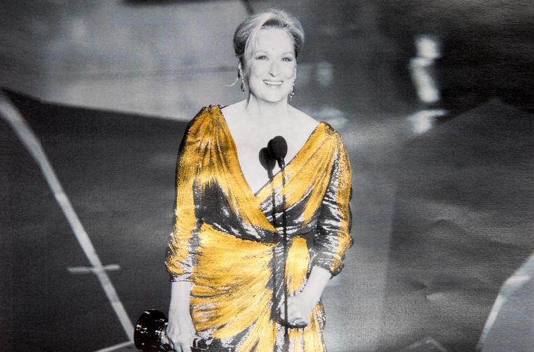 2012: Oscar voor beste actrice in The Iron Lady Beeld getty