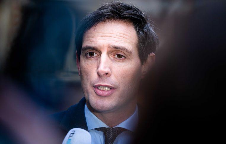 Minister Wopke Hoekstra van Financiën: