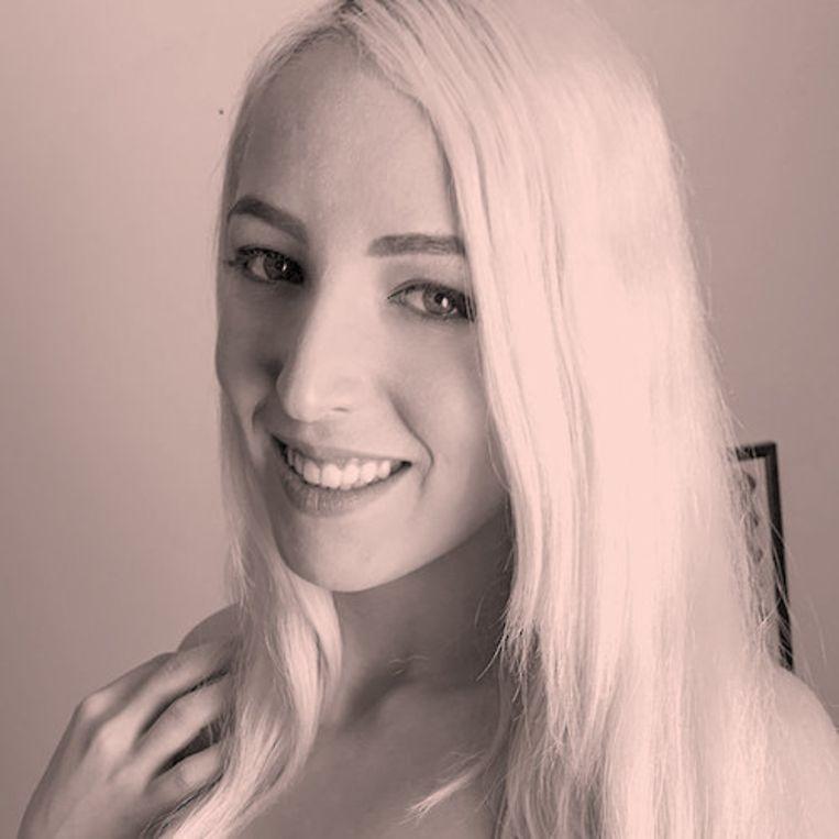Porno-actrice Liz Rainbow (24) heeft wel een ervaring met misbruik op de set, maar ziet dat als een uitzondering. Beeld RV
