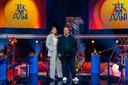 Emma Wortelboer presenteert zaterdagavond de nieuwe spelshow Tik 'm Aan, samen met Frank Evenblij.