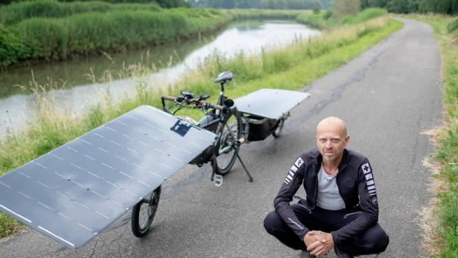 Met de fiets naar China in 40 dagen