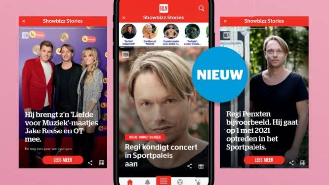 Nieuw in de HLN-app: Showbizz Stories. 'Blader' door de beste Showbizz-verhalen van de dag.
