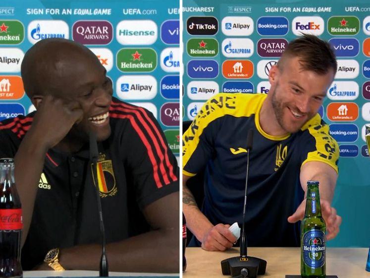 Jarmolenko en Lukaku vinden Heineken en cola wél lekker
