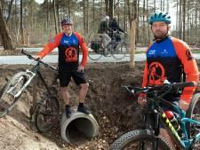 Twee platgereden dassen waren de druppel: er komt een dierentunnel (en zelfs de mountainbikers helpen mee)
