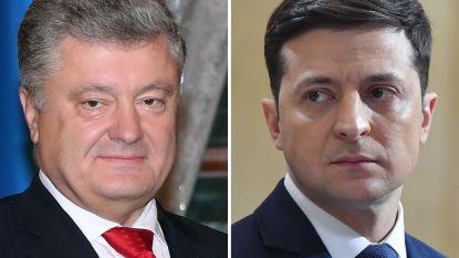 Petro Porosjenko en Volodymyr Zelensky naar de tweede ronde Oekraïense presidentsverkiezingen