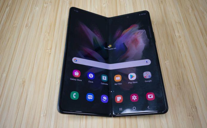De Samsung Galaxy Z Fold 3