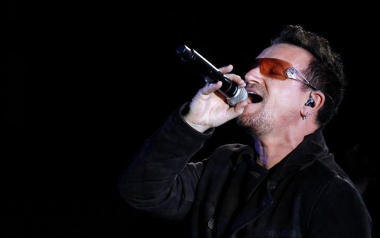 Bono afgelopen oktober in Hollywood. Beeld REUTERS