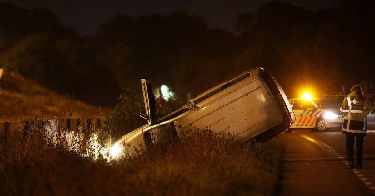 Zwaargewonde bij ongeluk langs A59 in Vinkel.