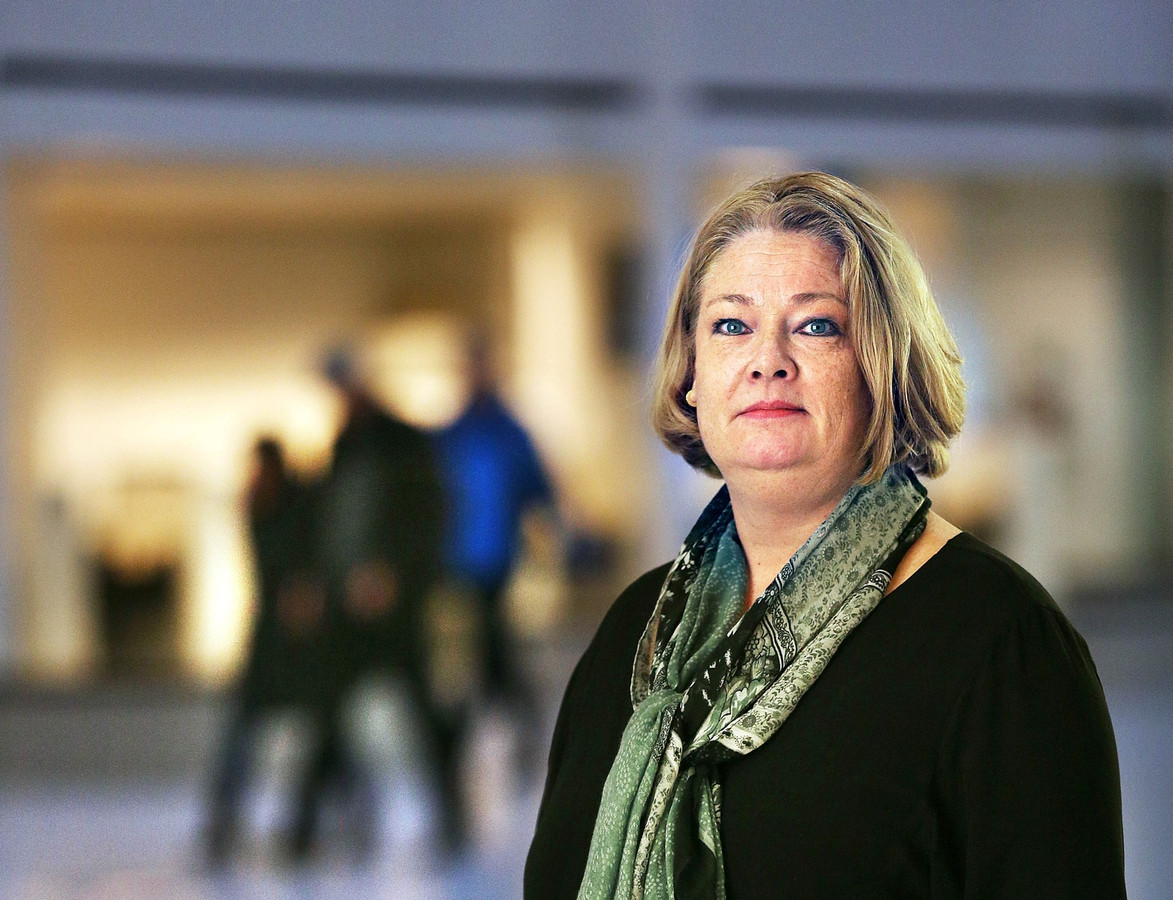 Fractievoorzitter van de Haagse PVV Karen Gerbrands