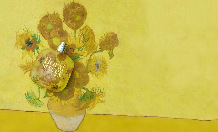 De eau de parfum werd Sunflower Pop gedoopt.