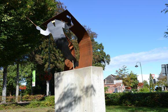 Het monument voor de Koninklijke Fanfare Kempenbloei