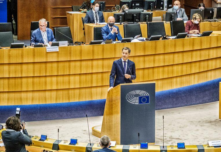 Premier Alexander De Croo (Open Vld). Beeld Tim Dirven