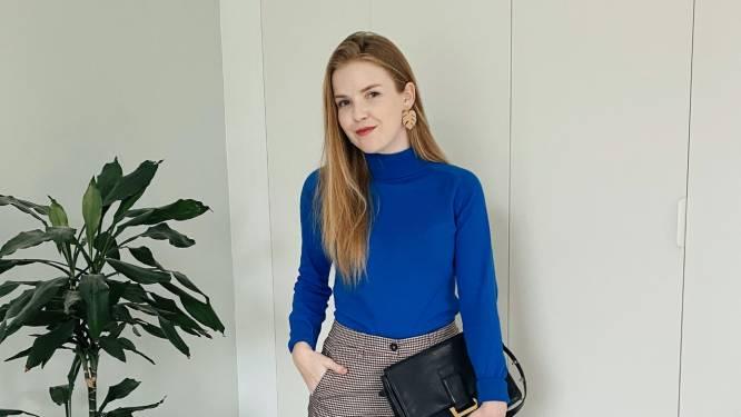 """Een duurzame kleerkast? Modeblogger Eline toont hoe het moet: """"Met trends houd ik al jaren geen rekening meer"""""""