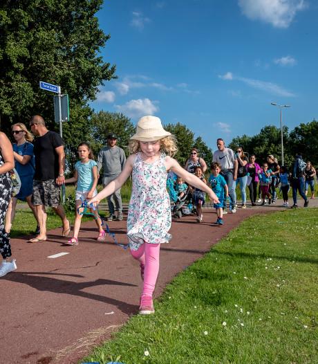 Avondvierdaagsen in Brabant geteisterd door noodweer