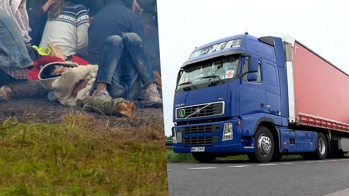 Wit-Rusland weigert humanitaire hulp van Polen aan migranten op hun grondgebied.