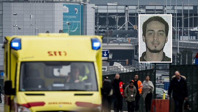 Bommenmaker Najim Laachraoui wordt gezien als hoofdverdachte van de bomaanslagen dinsdagochtend in Brussel.