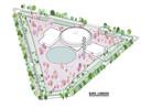 Een eerste ontwerp van het plan voor het Evoluon in Eindhoven van Hurks/Foolen & Reijs.
