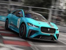 Plankgas met de elektrische Jaguar I-Pace e-Trophy racewagen