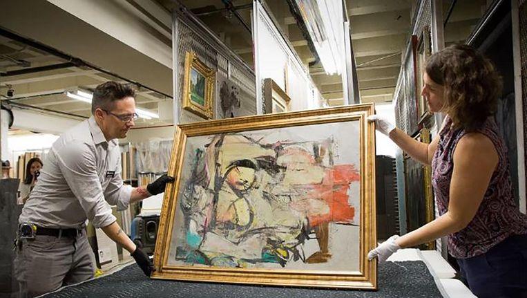 Het schilderij is terug in het museum. Beeld University of Arizona Museum of Art