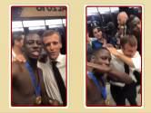 Video   WK Bytes: Macron viert WK titel met een dab