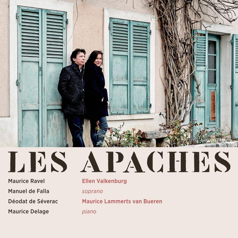 Les Apaches van Ellen Valkenburg en Maurice Lammerts van Bueren. Beeld Zefir Records