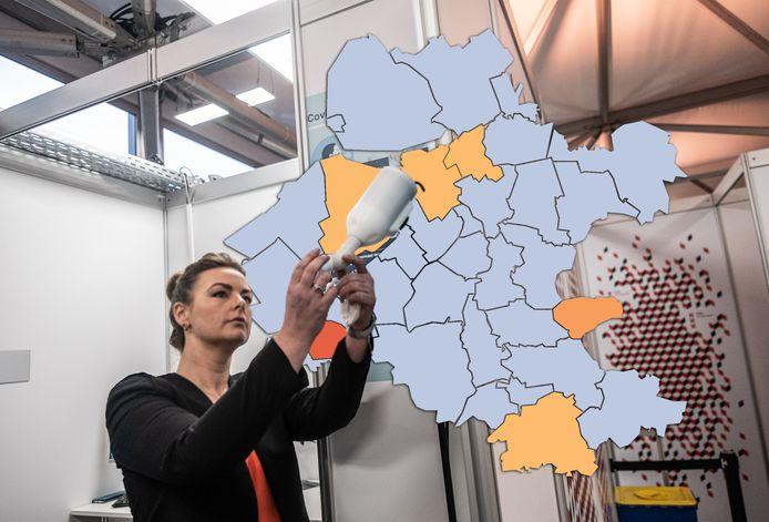 Veel gemeenten in Oost-Nederland noteren vandaag helemaal geen nieuwe coronabesmettingen.