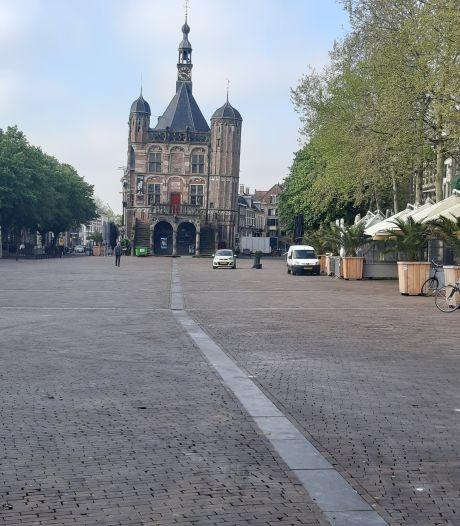Niets herinnert meer op Hemelvaartochtend aan Deventer promotiefeest