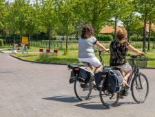 Proef voor fietsers in Lewedorp