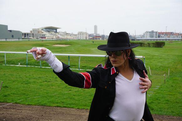 Michael Jackson-imitator Christof Lequesne, alias Christ'Of.
