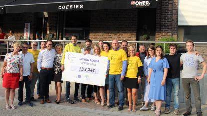 Levensloop brengt 133.749 euro op voor Stichting tegen Kanker