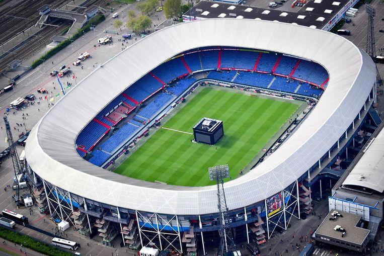 De Kuip na het verlies van Feyenoord tegen Excelsior. Beeld anp