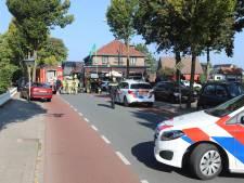Vrouw op motor gewond door botsing met auto in Harskamp: met spoed naar het ziekenhuis