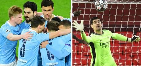 City et De Bruyne renversent Dortmund pour retrouver le dernier carré, le Real se qualifie grâce à un grand Courtois