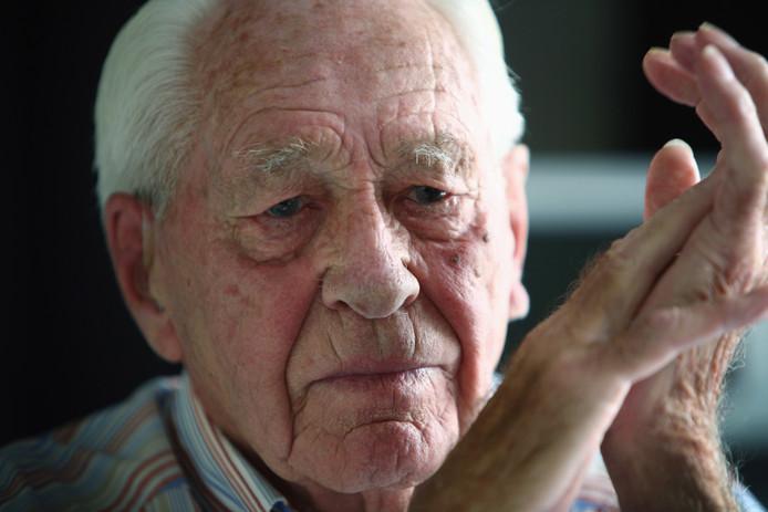 Oud-verzetsstrijder Karel Brouwer.