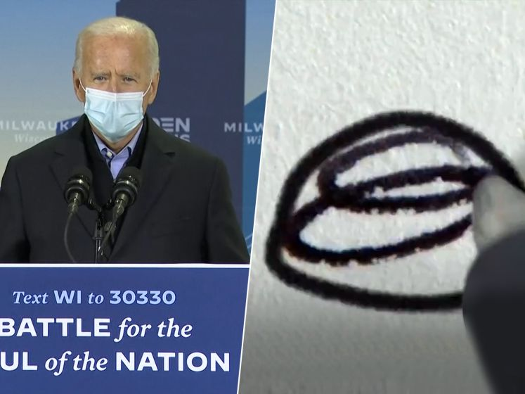 Origineel en grappig: spotje Biden toont hoe je afrekent met Trump