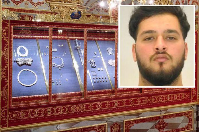 De juwelenroof uit het historisch museum Grünes Gewölbe in Dresden staat geboekt als misschien wel de grootste kunstdiefstal ooit. Inzet: de opgepakte verdachte Mohamed Remmo (21).