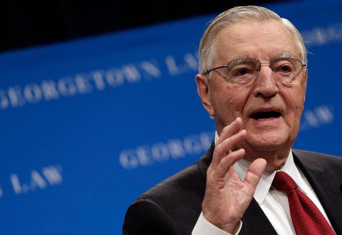 Voormalig vicepresident Walter Mondale in 2013