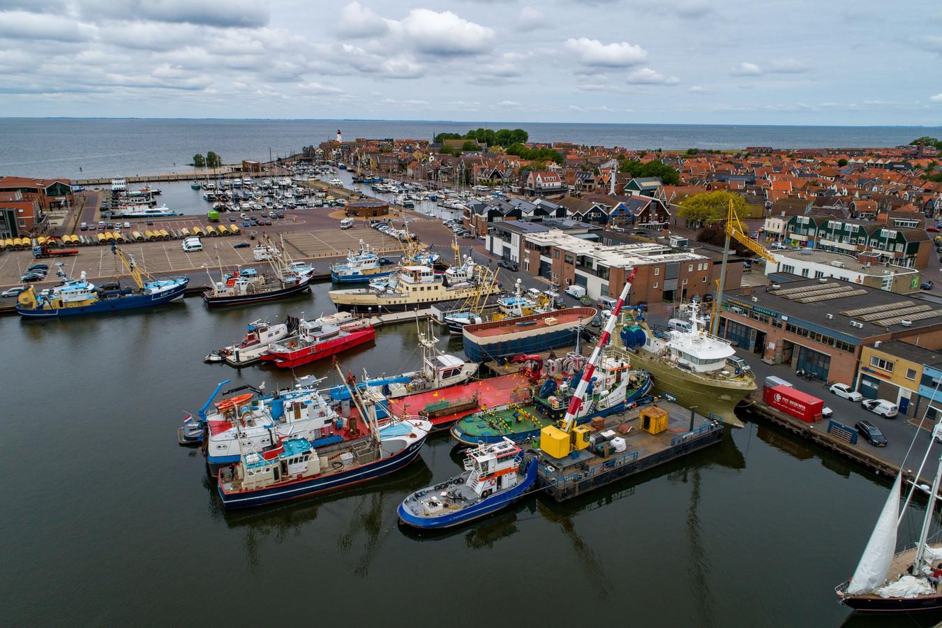 De haven van Urk.