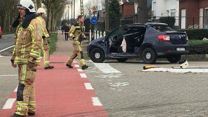 Mama en dochter gewond bij ongeval