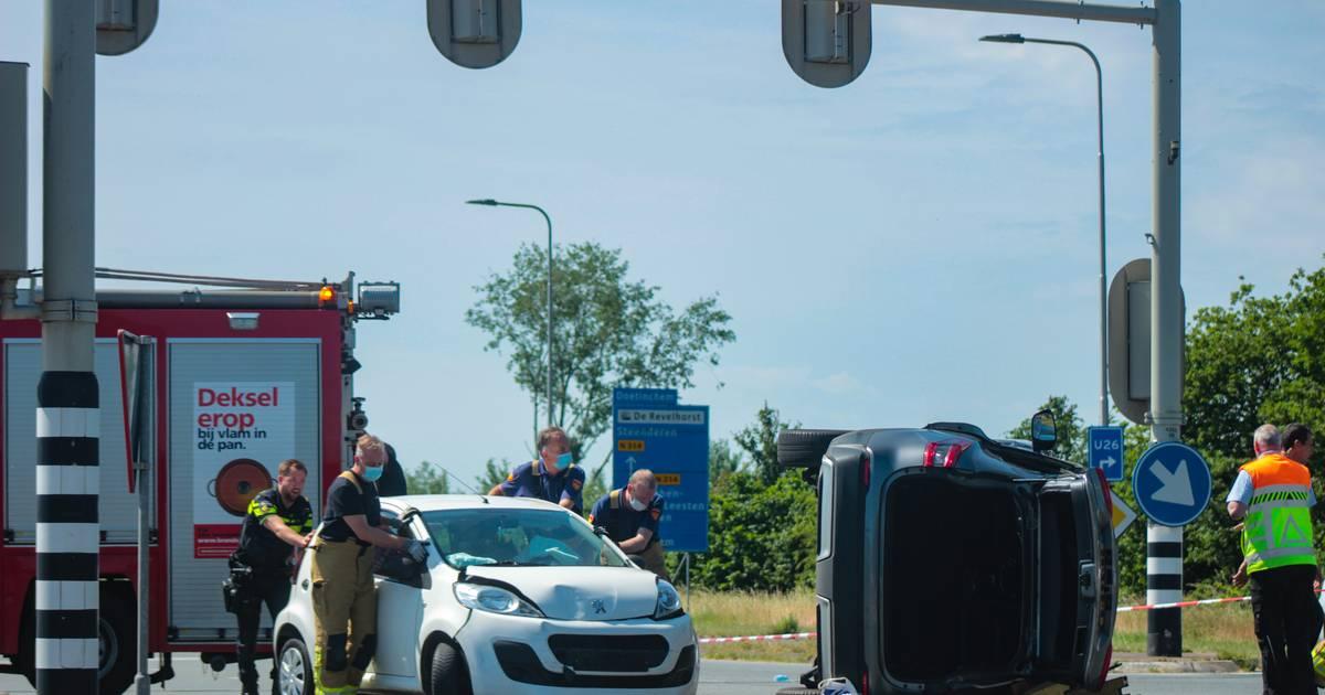 Drie gewonden bij aanrijding in buurt van ziekenhuis Zutphen.