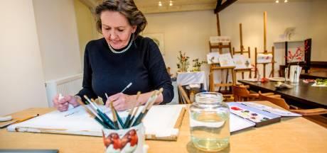 Nelleke Haverhals uit Sprang-Capelle spiegelt haar eigen leven in strips