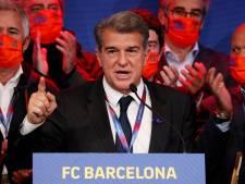Koeman en selectie krijgen meteen bezoek van nieuwe voorzitter Barcelona