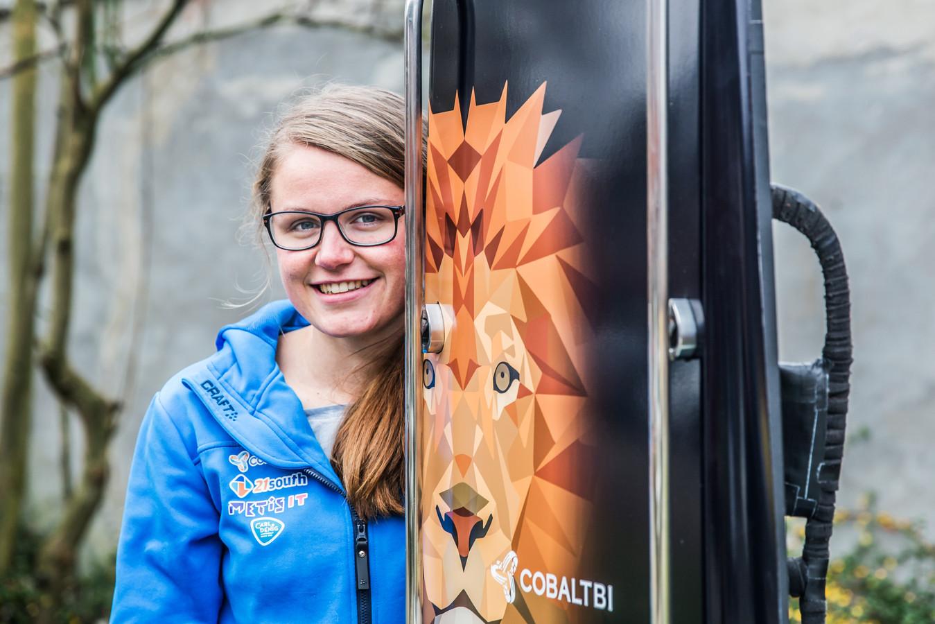Kimberley Bos uit Ede is de eerste Nederlandse die op het onderdeel skeleton uitkomt op de Olympische Spelen.