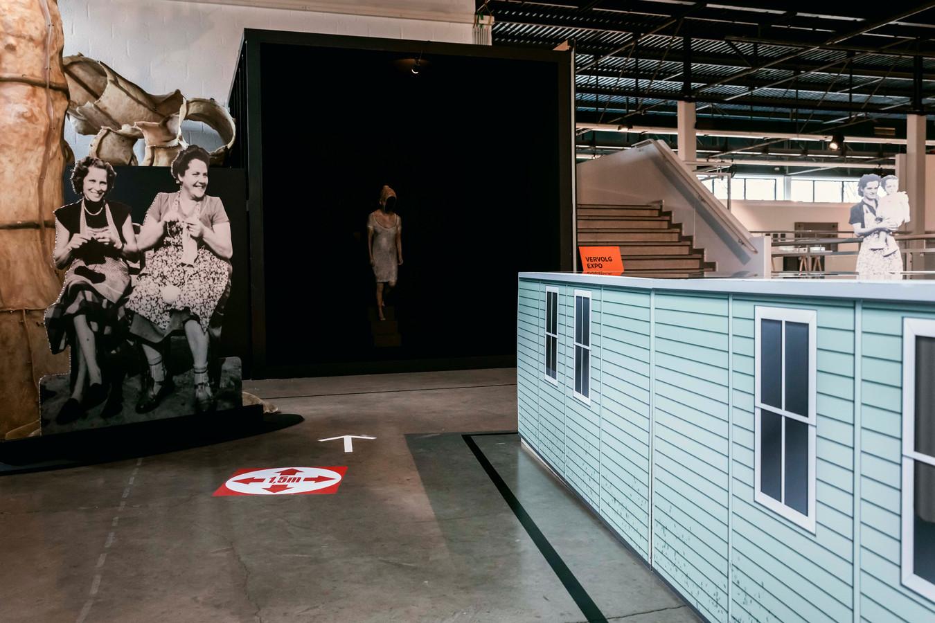 Curator Marc Milissen gaf vorm aan de tentoonstelling.