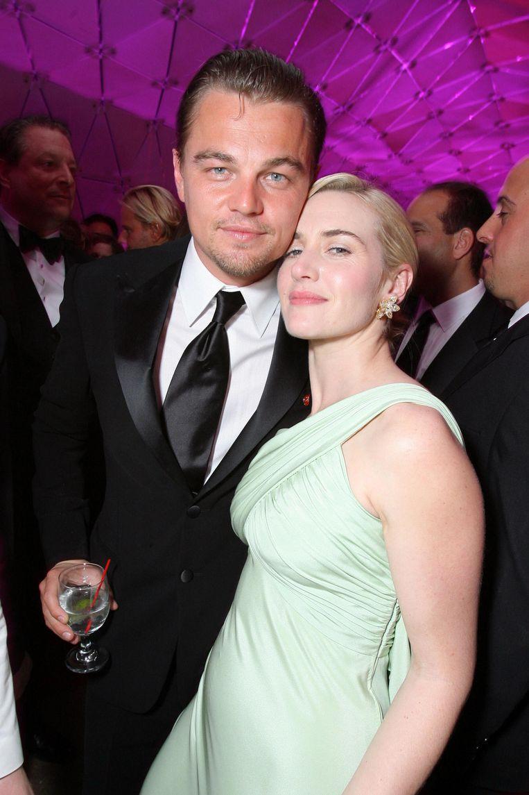 Leonardo DiCaprio en Kate Winslet in 2007. Beeld WireImage