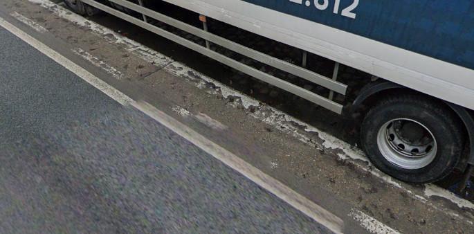 Fietspad op Schaarbeeklei in Vilvoorde.